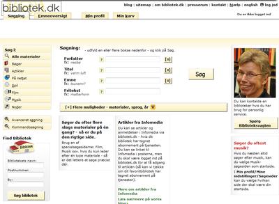 bibliotek.dk 2010 design
