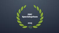 DBC Specialepris 2015