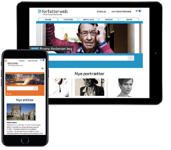 Forfatterweb og Faktalink åbner den 19. december 2016