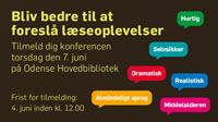 Temadag på Odense Hovedbibliotek den 7. juni 2018