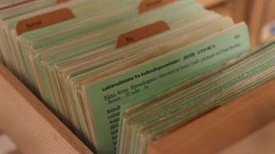 96.000 gamle lektørudtalelser digitaliseret