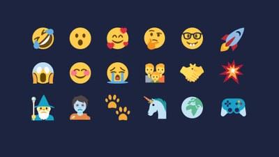 Buggi bruger emojis
