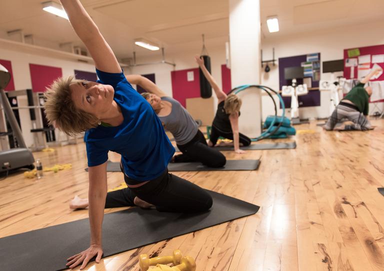 Marianne: Pilates er godt for både ryg og arbejdsmiljø