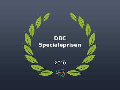 DBC Specialeprisen 2016