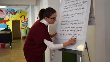 Sarah Elizabeth Hvidberg projektleder Læsekompasset kickoff
