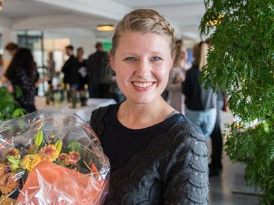 Ida Jensen Vinder af DBC-prisen Informationsvidenskab 2016