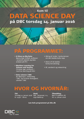 Data Science Day flyer til print