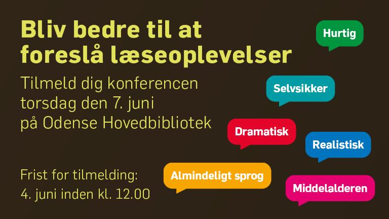 Odense Hovedbibliotek den 7. juni 2018