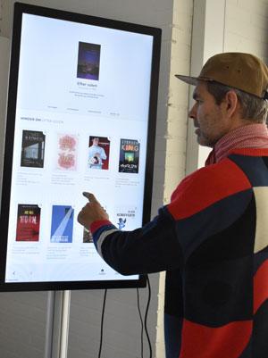 Læsekompas på touchskærm