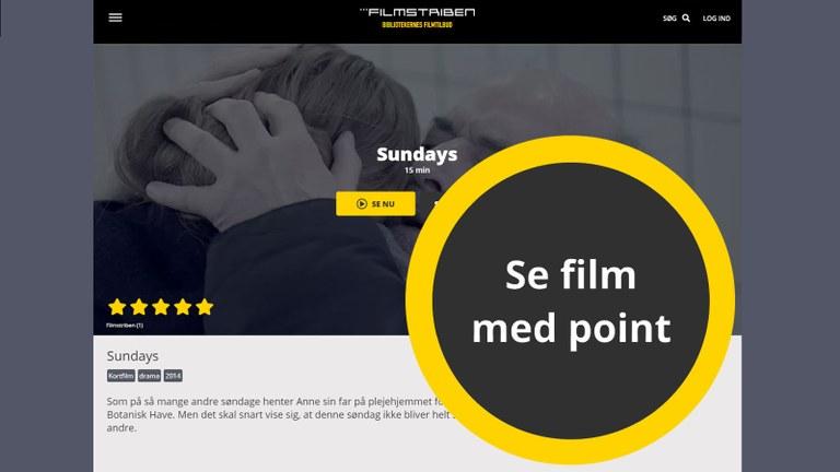 Pointsystem gør lån på Filmstriben mere fleksibelt