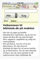 bibliotek.dk app iphone velkommen