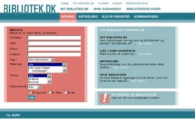 bibliotek.dk design 2003