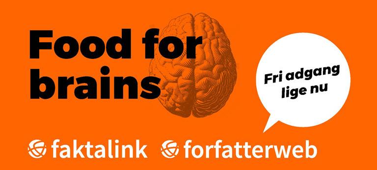Fri adgang til Faktalink og Forfatterweb lige nu