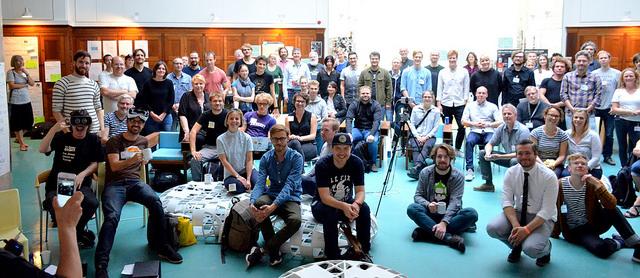 Deltagere på HACK4DK 2016