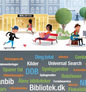 Vægillustration til DB's årsmøde 2013