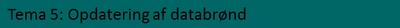 Opdatering af databrønd