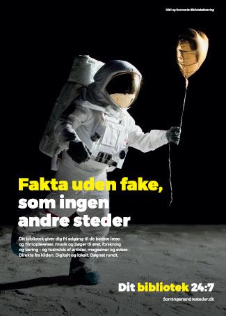Fakta uden fake. A3 plakat