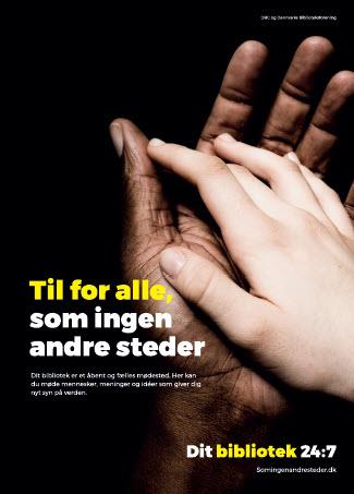 Til for alle. A3 plakat