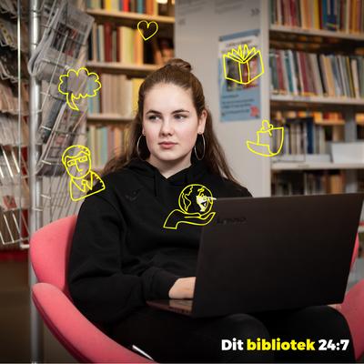Dit bibliotek 24:7_4. Sociale medier opslag. Faktalink