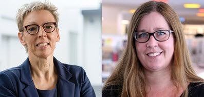 Nanna Agergaard og Anita Tejlgaard Olesen