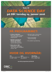 Data Science Day på DBC 14. januar 2016