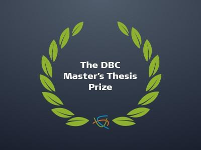 DBC Master's Thesis Prize