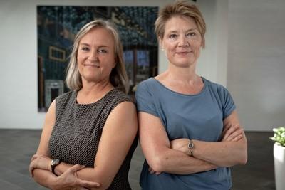 Laura Mørkøv Holm og Marianne Dybkjær