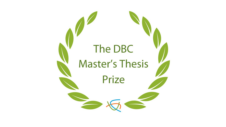 The DBC Master's Thesis Prize