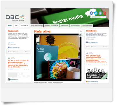 dbc/social screen