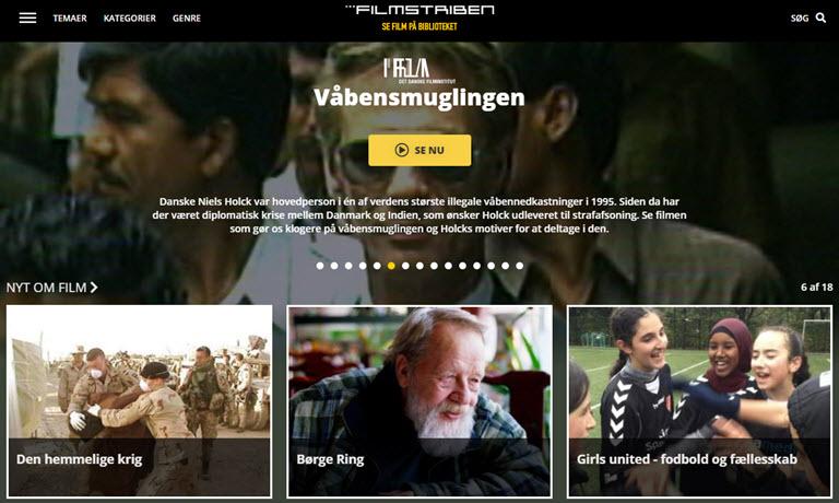 Se film på biblioteket_Topbanner