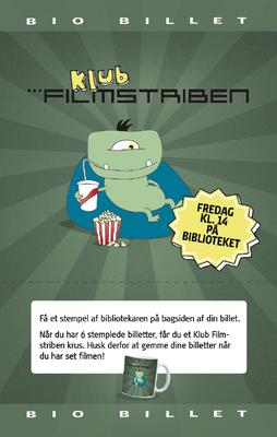 Klub Filmstriben billet